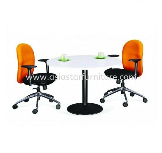 DRUM LEG ROUND DISCUSSION OFFICE TABLE