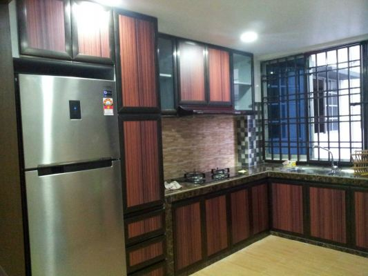 ALUMINIUM KITCHEN CABINET 45