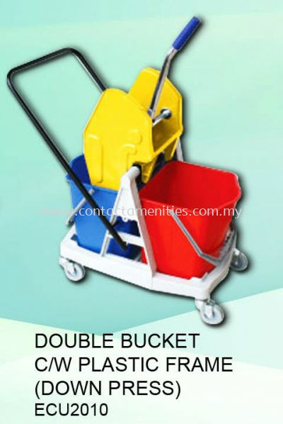 ECU2010 - Double Bucket c/w Plastic Frame (Down Press)