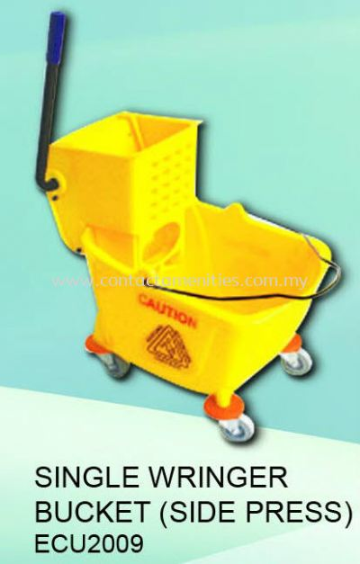 ECU2009 - Single Wringer Bucket (Side Press)