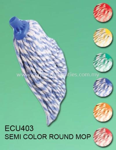 ECU403 - Semi Color Round Mop