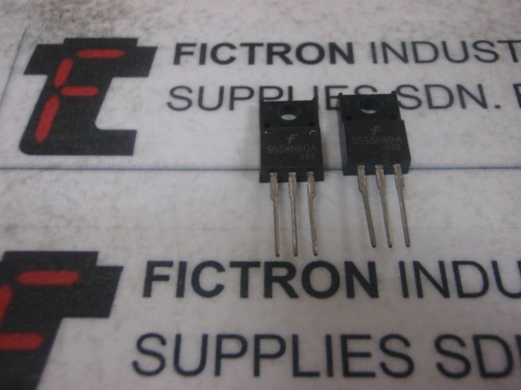 SSS6N60A Fairchild IC MOSFET Malaysia Singapore Thailand Indonesia USA FAIRCHILD Integrated Circuit (IC)