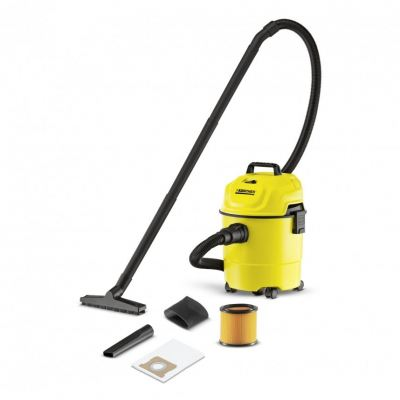 Karcher WD1 Multi-purpose Wet & Dry Vacuum Cleaner