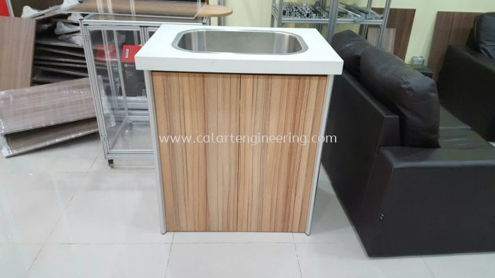 Kitchen Basin Aluminium Cabinet