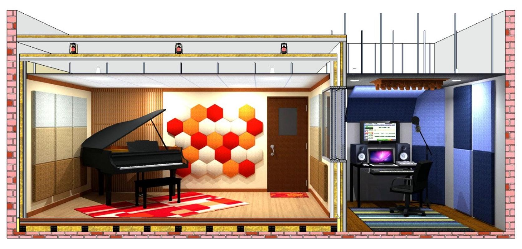 Studio Acoustical System Studio Acoustical System Malaysia, Selangor, Kuala Lumpur (KL), Shah Alam Supplier, Supply, Supplies, Service | ISTIQ Noise Control Sdn Bhd