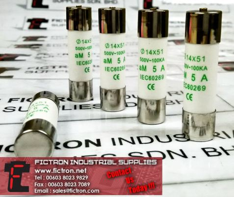5A 660V 14X51 IEC269 EN60629 Cylindrical Fuse Link Supply Malaysia Singapore Thailand Indonesia Philippines Vietnam Europe & USA