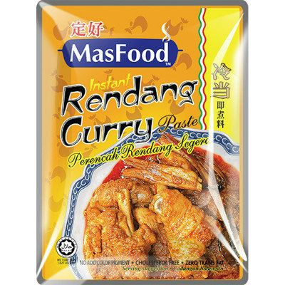 MasFood Instant Rendang Curry Paste Curry Paste