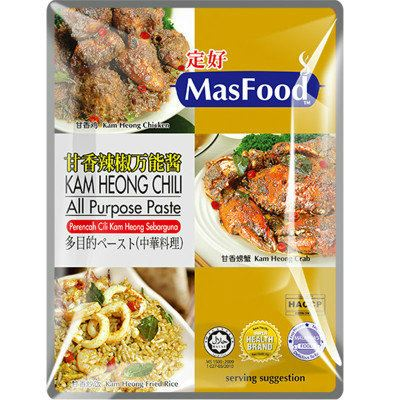 MasFood Kam Heong Chili All Purpose Paste All Purpose Paste