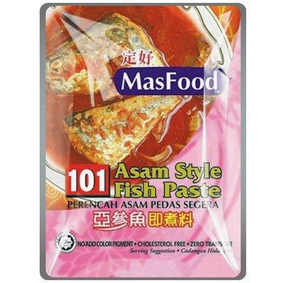 MasFood 101 Instant Asam Style Fish Paste Nyonya Style Paste