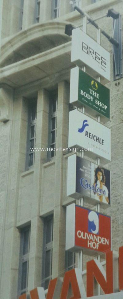 Outdoor signboard sample (click for more detail)