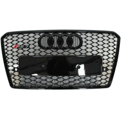 Audi A7 RS front grille all black