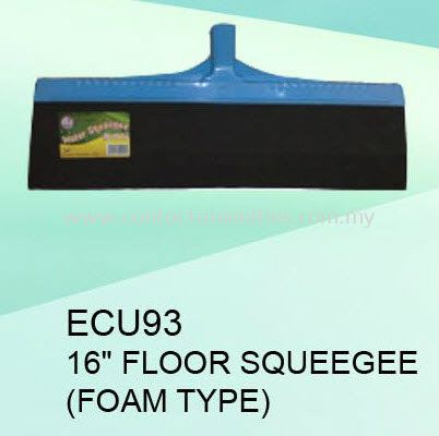"ECU93 - 16"" Floor Squeegee (Foam Type)"