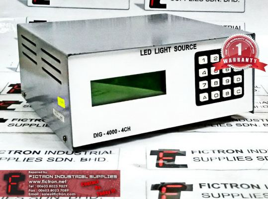 Repair Service Malaysia - DIG-4000-4CH LED LIGHT SOURCE LED Controller Drive Singapore Indonesia