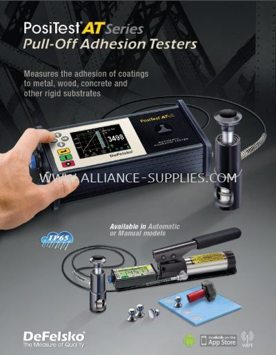 3.6 Defelsko PosiTest Pull-Off Adhesion Tester/ Pull-Out Test Apparatus