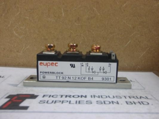 TT92N12KOFB4 Eupec Infineon Power Module Malaysia Singapore Thailand Indonesia USA