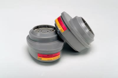MSA GMC-P100 Advantage Respirator Cartridge, OV/AG/P100, 815364, 2/Pack
