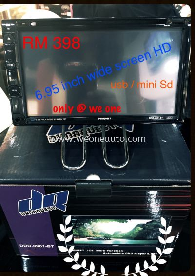 DVD Player 6.95 Wide Screen