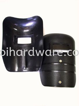Black PVC Hand Shield Head & Face Protections Personal Protective Equipments