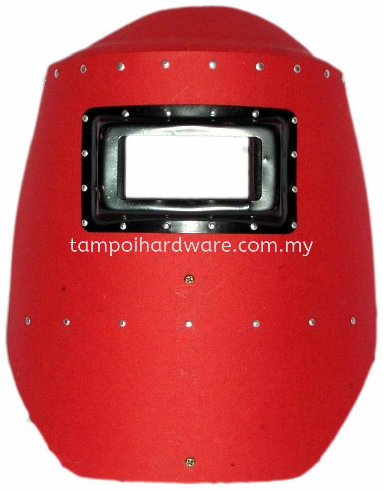 Red Fibre Hand Shield Head & Face Protections Personal Protective Equipments