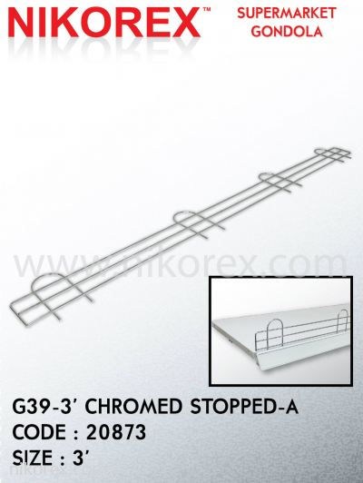 20873-G39-3' CHROMED STOPPED-A