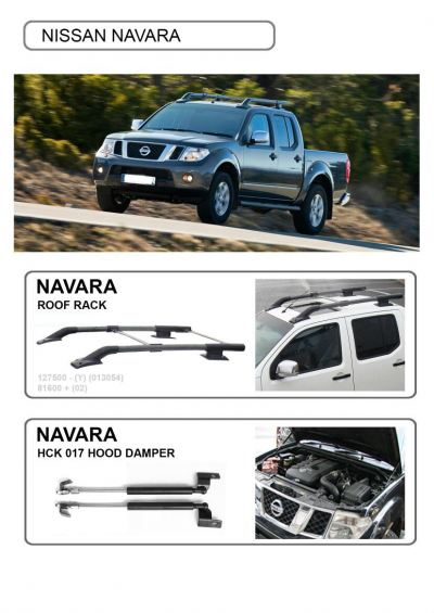 Nissan Navara side step