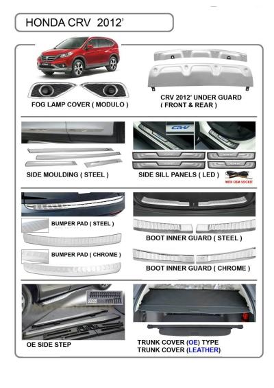 Honda CRV accessories