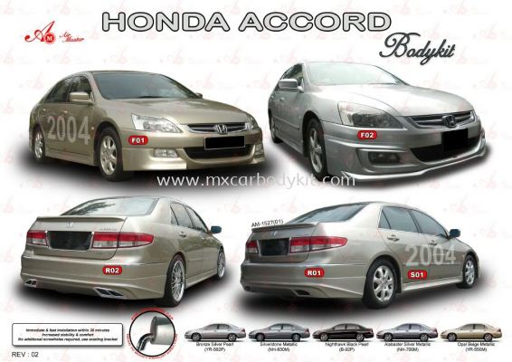 HONDA ACCORD 2004 AM STYLE BODYKIT