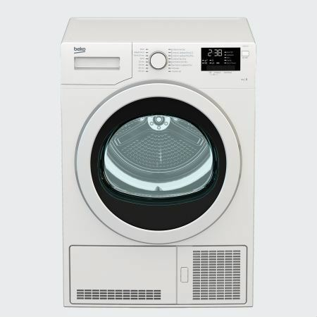 DCJ83133W Beko Dryer