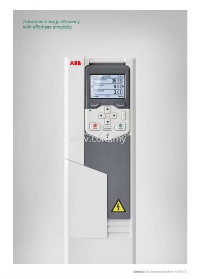 ABB AC Drives ACS 580