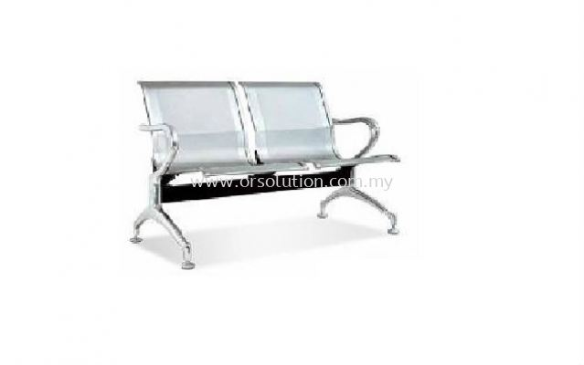 Link_Chair_Aluminum_2 seater