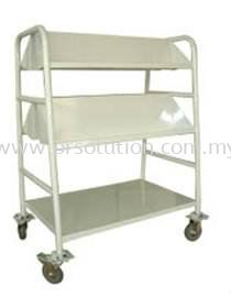 Book Trolley With 2 Slanting