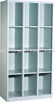 12-Pigeon Holes-Cabinet