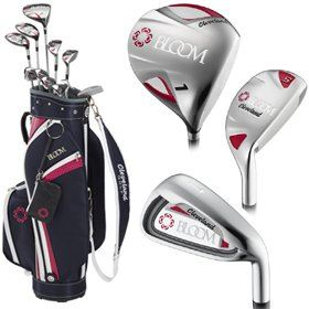 Cleveland Bloom Womens Golf Set