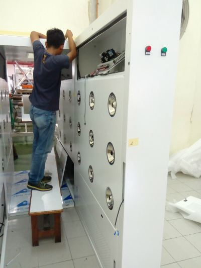 Clean Room Air Shower Room Installation