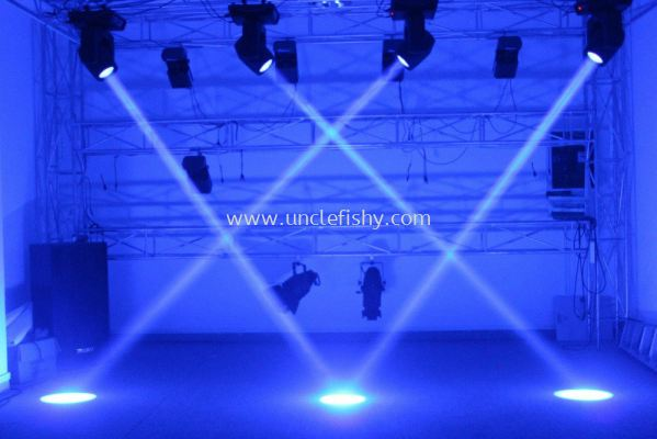 Stage Sound, Light & Fire System