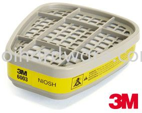 3M 6003# Cartridge  Respirators 3M PRODUCTS