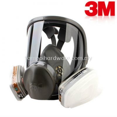 3M 6800# Full Face Respirator with Cartridge