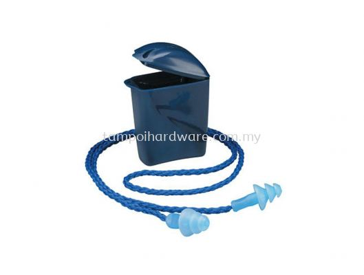 3M 1291# Reusable Earplug with Braided Rope and Carrying Case