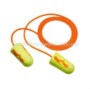 3M E-A-Rsoft Yellow Neon Blasts Corded Earplugs 311-1252