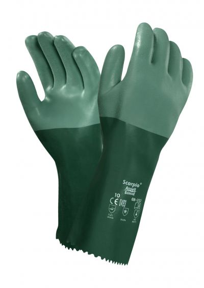 Ansell Scorpio 08-354, Chemical Resistant Glove