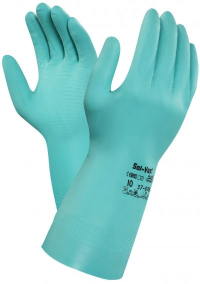 Ansell Solvex 37-676 Chemical Resistant Gloves