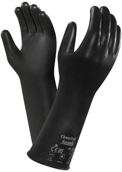 Ansell Chemtek 38-612 Chemical Resistant Gloves