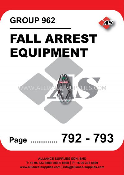 962-Fall Arrest Equipment