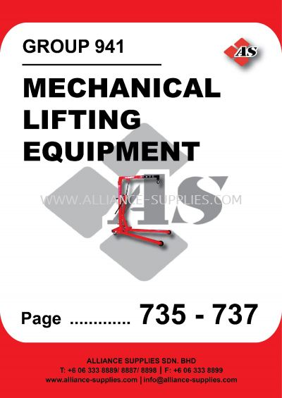 941-Mechanical Lifting Equipment