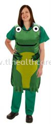 Frog Apron Front Protection Protective Apparel