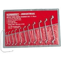 KEN-582-1970K - 6-32mm CV RING SPANNER SET 11PC Hand Tools Cromwell Tools