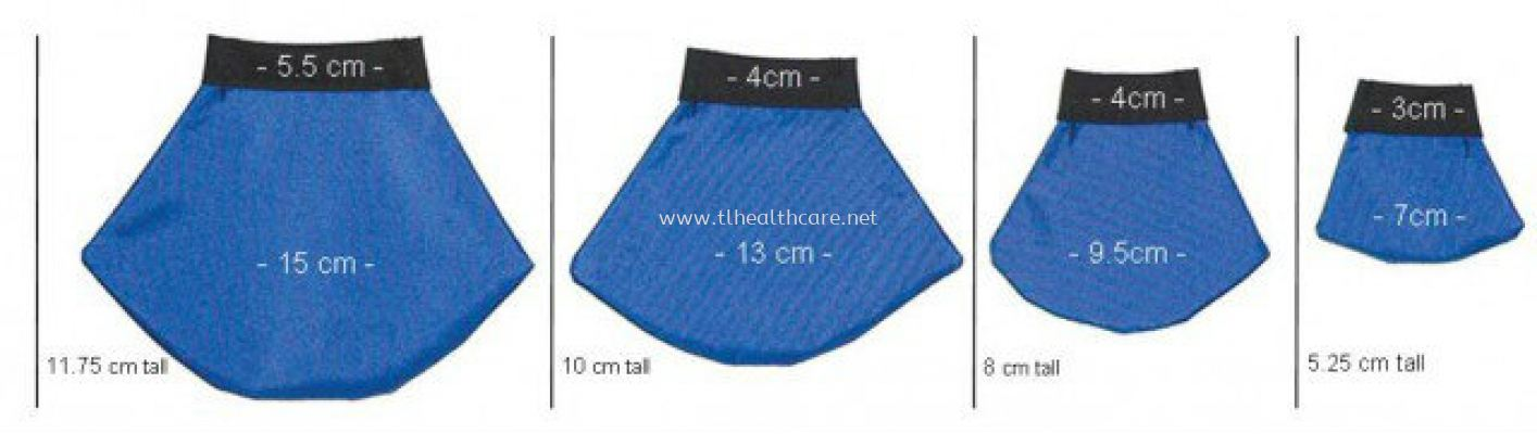 Pediatric Male Gonad Protection Shields