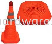 Retractable safety cone With Blinking Light Road Safety Equipments Personal Protective Equipments