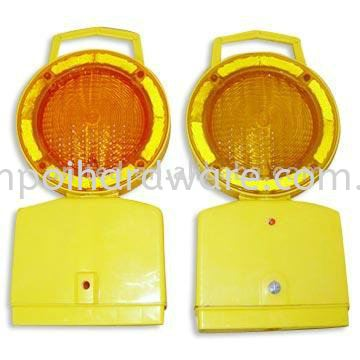 Road Flash Lamp Yellow Colour Road Safety Equipments Personal Protective Equipments
