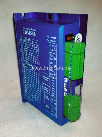 2DM556 EDRIVE Digital 2 Phase Stepper Driver (1.4-5.6A)